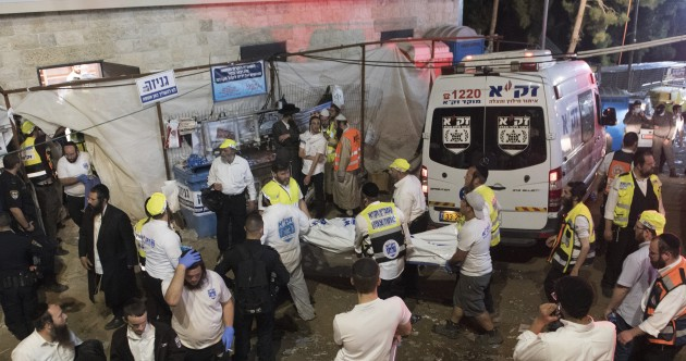 'A tragic night': At least 44 people killed in Israeli pilgrimage stampede