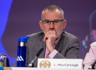 GAA President Larry McCarthy.
