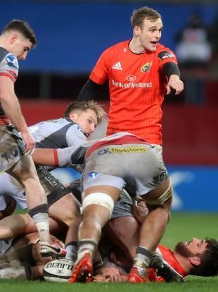Nick McCarthy in action for Munster.