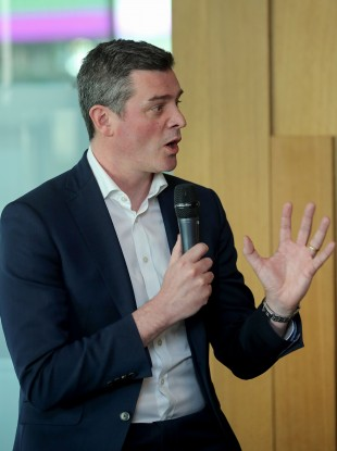 Olympic Federation of Ireland CEO Peter Sherrard.
