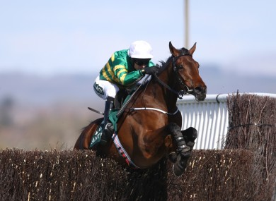 Mark Walsh riding Fakir D'oudairies to victory.