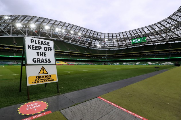 Dublin Euro 2020 games in fresh doubt as FAI tell Uefa they cannot provide assurances on crowd numbers