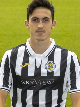 Jamie McGrath is in form for St Mirren.
