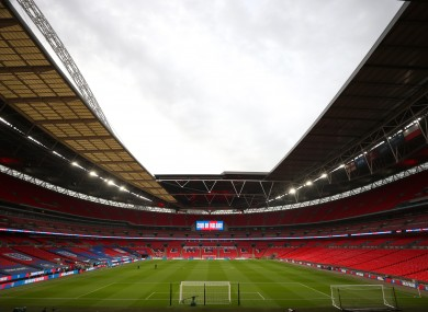 Wembley Stadium in London will be a key part of the trials.