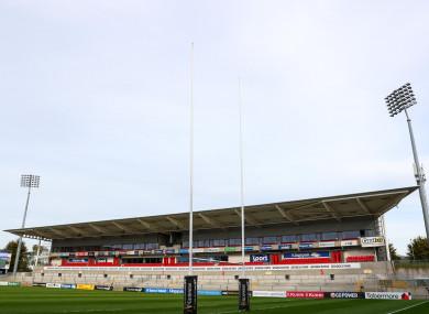 Kingspan Stadium in Belfast.
