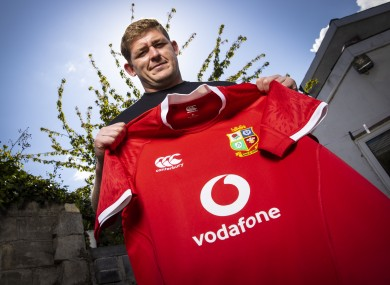 Tadhg Furlong is an official Vodafone Ambassador for the British & Irish Lions tour to South Africa.