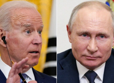 Joe Biden and Vladimir Putin will meet in Geneva on 16 June.
