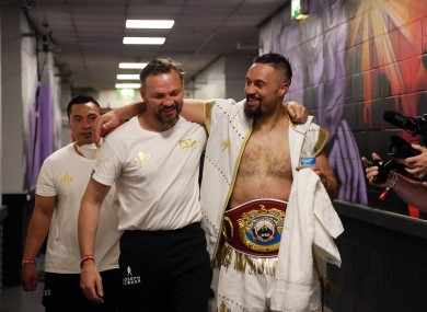 Andy Lee and Joseph Parker.