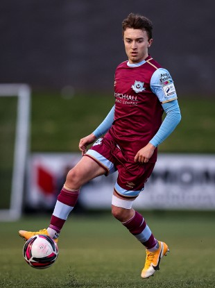Darragh Markey was among the scorers for Drogheda (file pic).