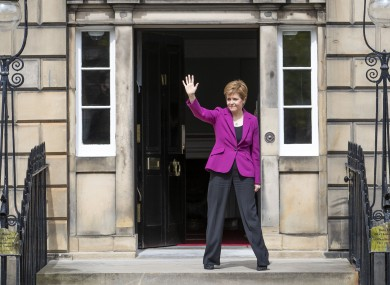 First Minister Nicola Sturgeon told the Prime Minister that it was 'when not if' for a second independence referendum
