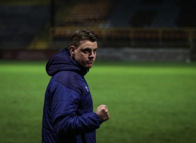Shelbourne manager Ian Morris.