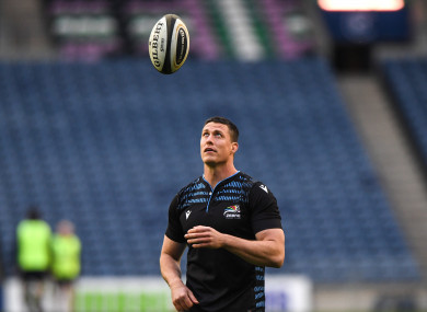 The Cork native has been with Zebre since 2019.