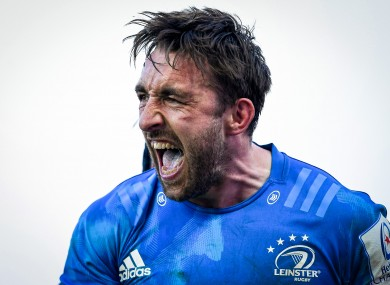 Leinster's Jack Conan will hope to celebrate today.