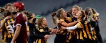 Kilkenny celebrate their senior All-Ireland Camogie title last year.