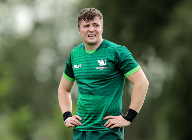 Luke Carty during his time at Connacht.