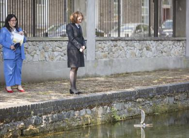 Lord Mayor of Dublin Hazel Chu and the German Ambassador to Ireland Deike Potzel