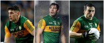 Kerry's Paul Geaney, David Moran and Paul Murphy.