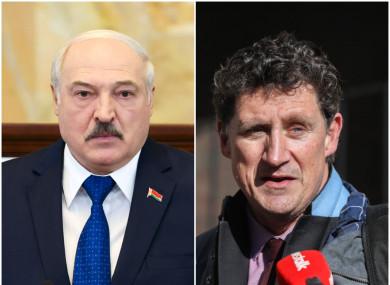 Alexander Lukashenko; Minister for Transport Eamon Ryan.