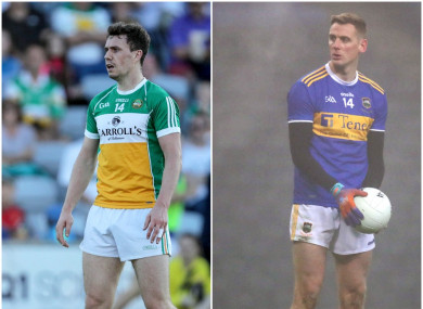 Niall McNamee scored 0-3 for Offaly while Conor Sweeney hit 1-2 for Tipperary.