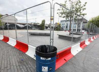 Dublin City Council shut Portobello Plaza in Dublin last weekend, due to large numbers of people engaging in