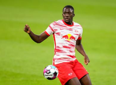 RB Leipzig player Ibrahima Konate.