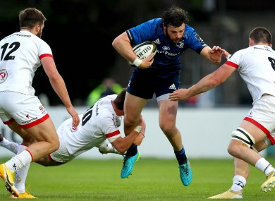 Robbie Henshaw scored the decisive try against Ulster.
