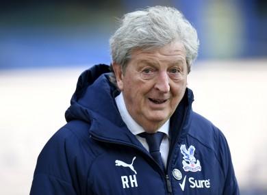 Crystal Palace manager Roy Hodgson.