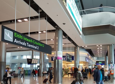 File photo of Dublin Airport