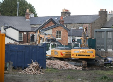 The property at 40 Herbert Park, which once belonged to The O'Rahilly, was bulldozed last year.