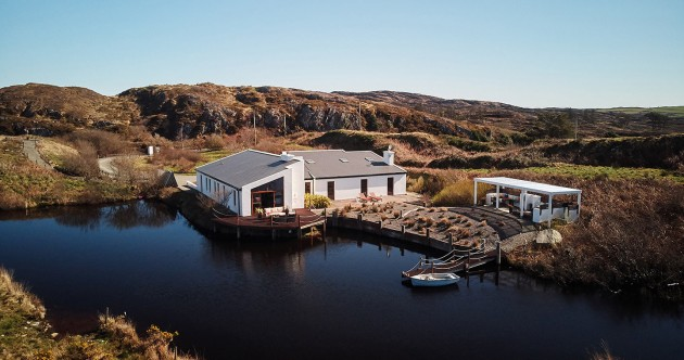 Spend the weekend on the lake at this luxury hideaway in West Cork