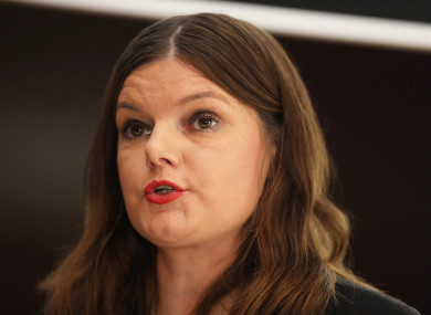Kathleen Funchion, chairperson of the Oireachtas Children's Committee