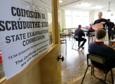 Leaving Cert choice to be increased (File photo)