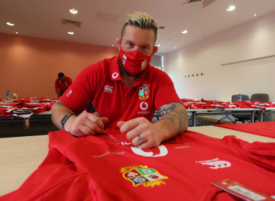 A toe injury will prevent Andrew Porter from travelling to South Africa with the British & Irish Lions.