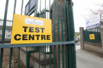 File image from outside a HSE Covid-19 test centre in Dublin.