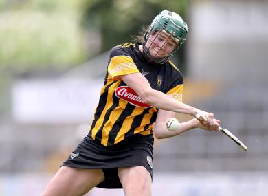 Kilkenny's Denise Gaule scores a goal.