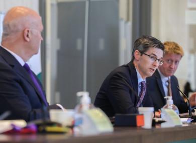File image of Dr Ronan Glynn at a NPHET press briefing.