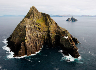 A view of the Skelligs off the coast of Co Kerry