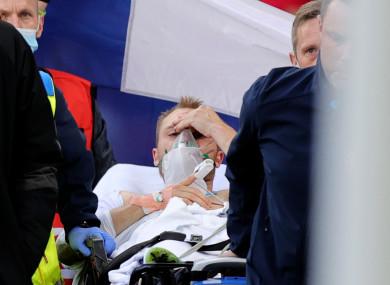 Denmark midfielder Christian Eriksen suffered a cardiac arrest on the pitch on Saturday.