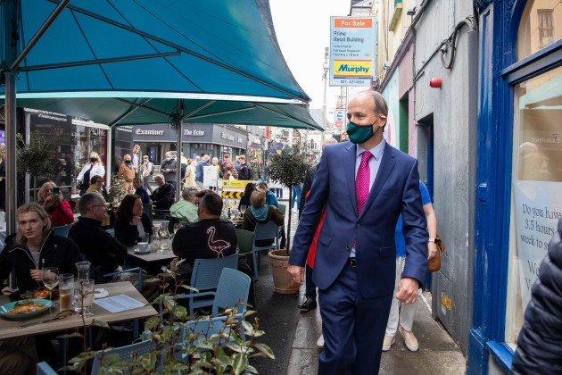 Taoiseach expects things to 'settle down' as business group says outdoor dining has improved city atmosphere
