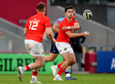 Joey Carbery is at 10 for Munster today.