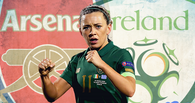 The rise of Katie McCabe, Ireland's youngest-ever captain and world-class Arsenal star