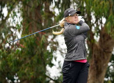 Missed cut: Meadow battled Olympic Club's tough Lake Course this week.