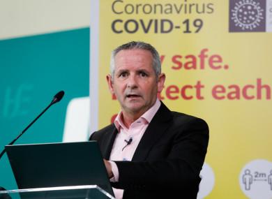 CEO HSE Paul Reid.
