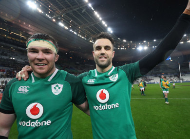 Peter O'Mahony and Conor Murray.