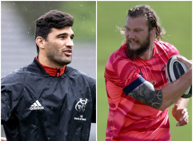 De Allende and Snyman suffered burns in the accident.