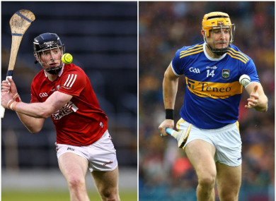 Cork's Conor Cahalane and Tipperary's Seamus Callanan are both in to start.