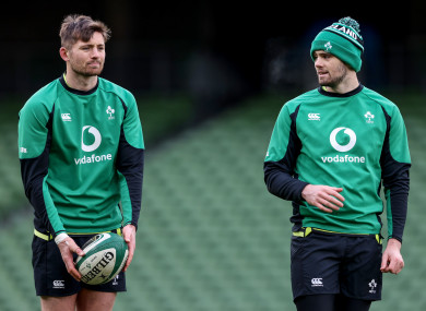 Ross Byrne missed out as younger brother Harry made the Ireland squad.