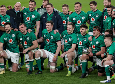 Ireland finished the Six Nations on a high this year but have been missing IRFU targets.