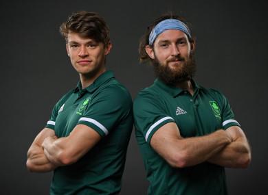 Fintan McCarthy (left) and Paul O'Donovan.