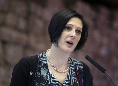CEO Womens Aid Sarah Benson: